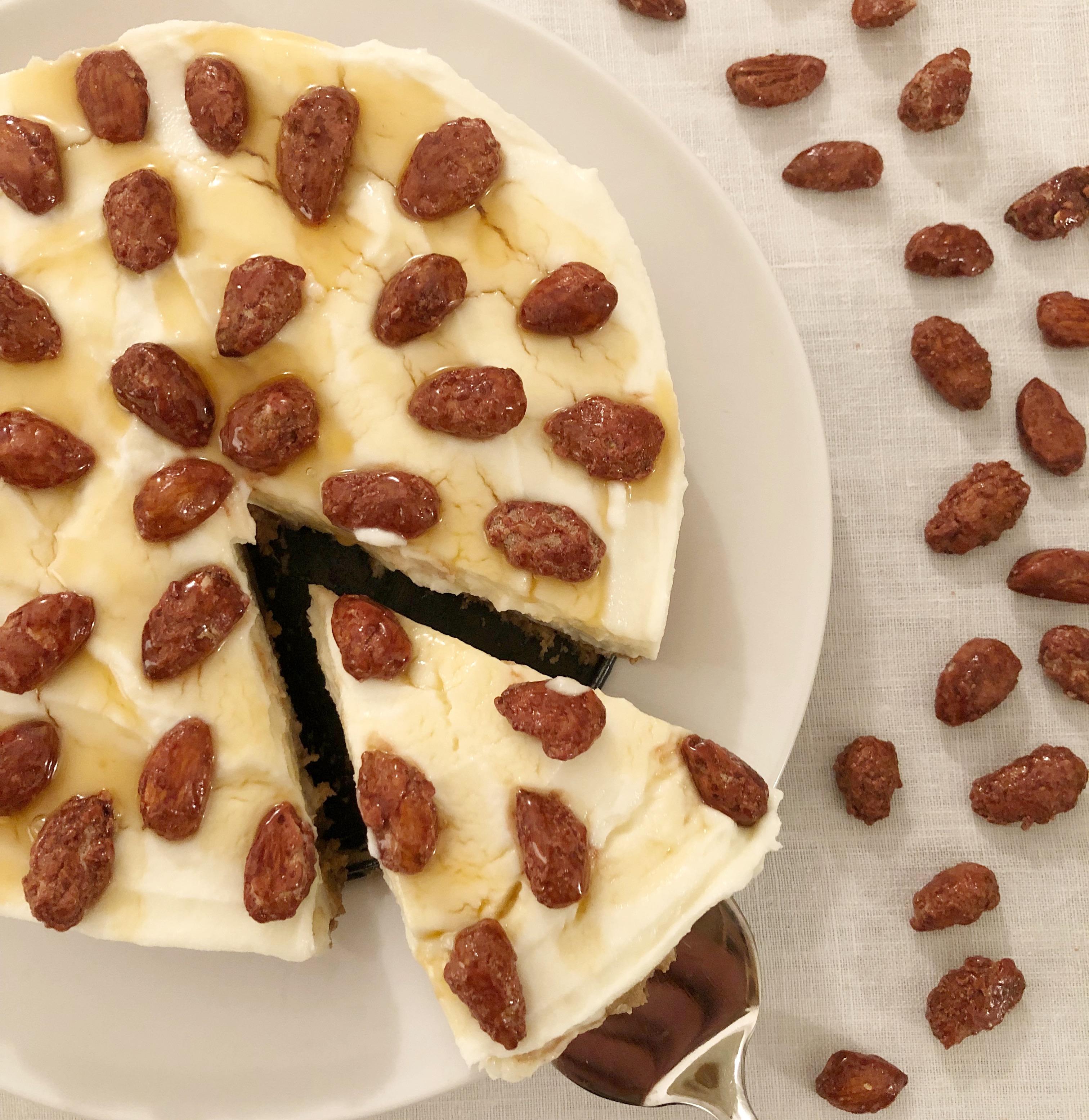 Cheesecake Ricotta e Miele Senza Burro, una versione golosa e originale di dolci senza burro!