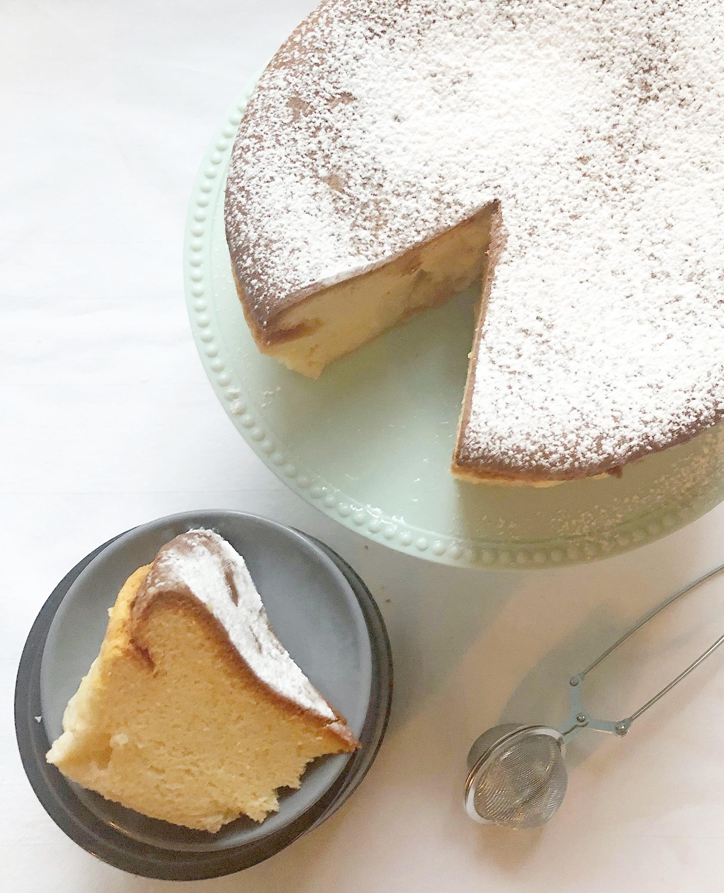 Torta Cremosa alla Ricotta Senza Burro, un dolce dalla consistenza unica e dal sapore delicato di dolci senza burro