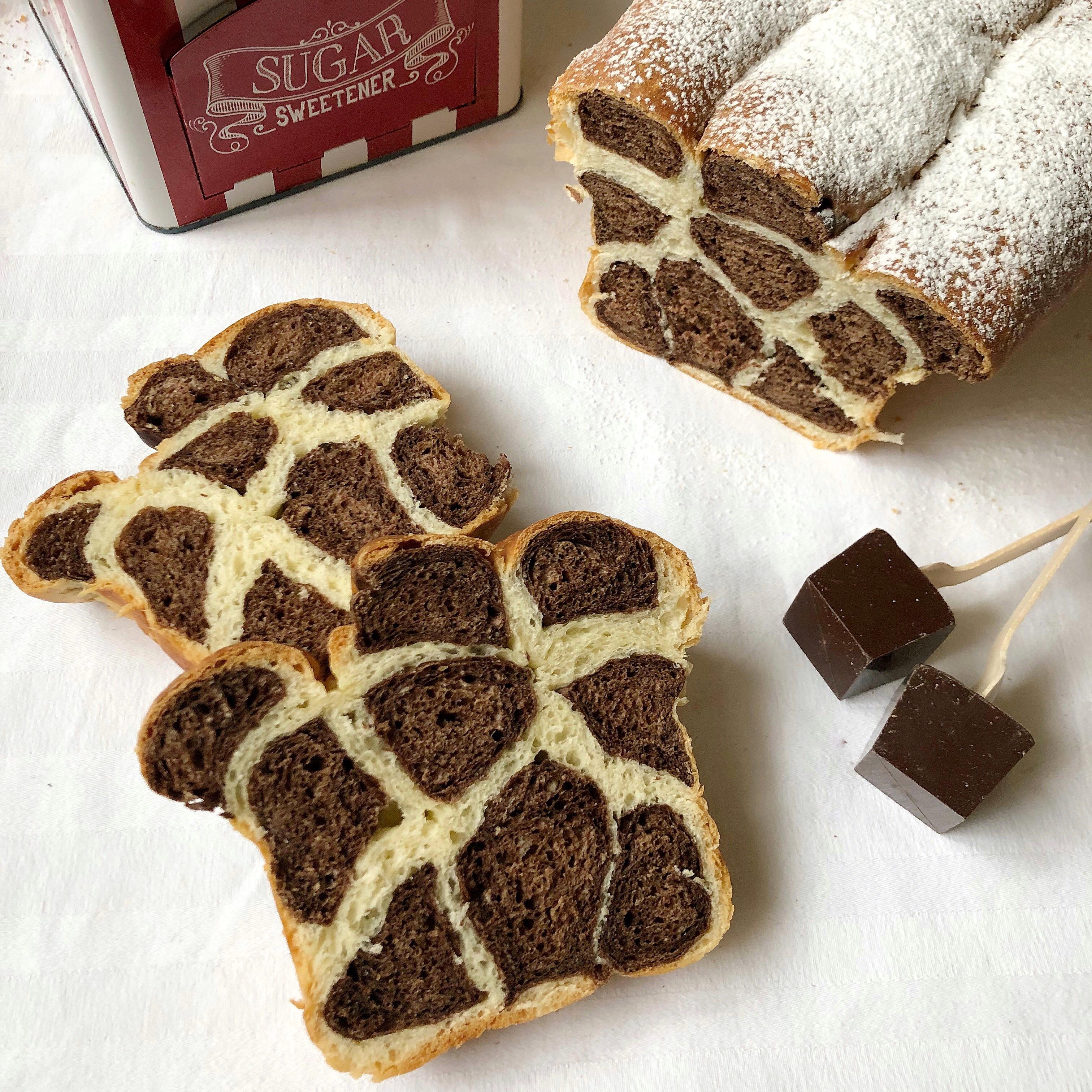 Panbrioche Leopardato Senza Burro, un dolce speciale e scenografico di dolci senza burro