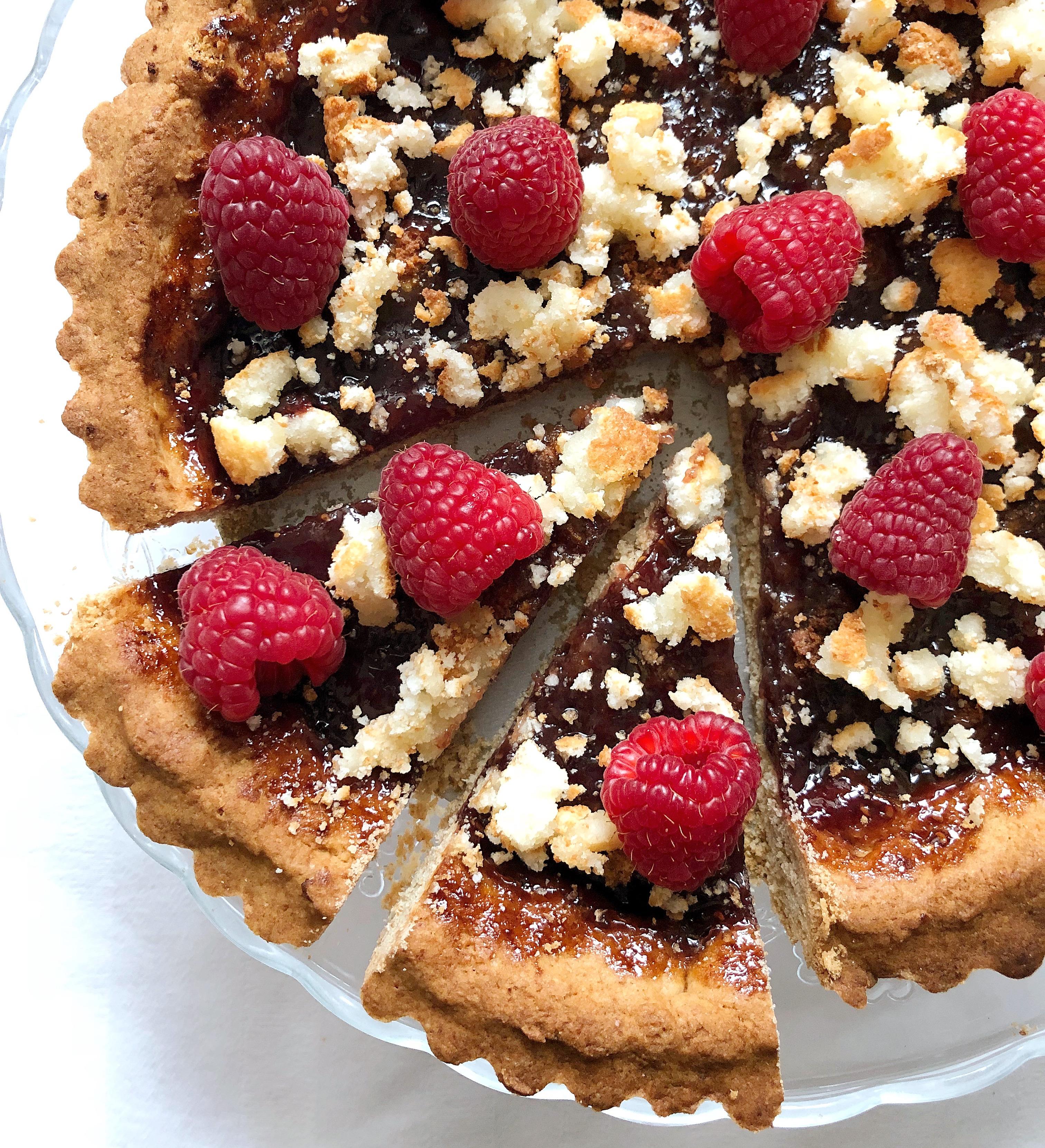 Crostata Marmellata e Amaretti Senza Burro e Uova, il dole goloso adatto a tutti di dolci senza burro