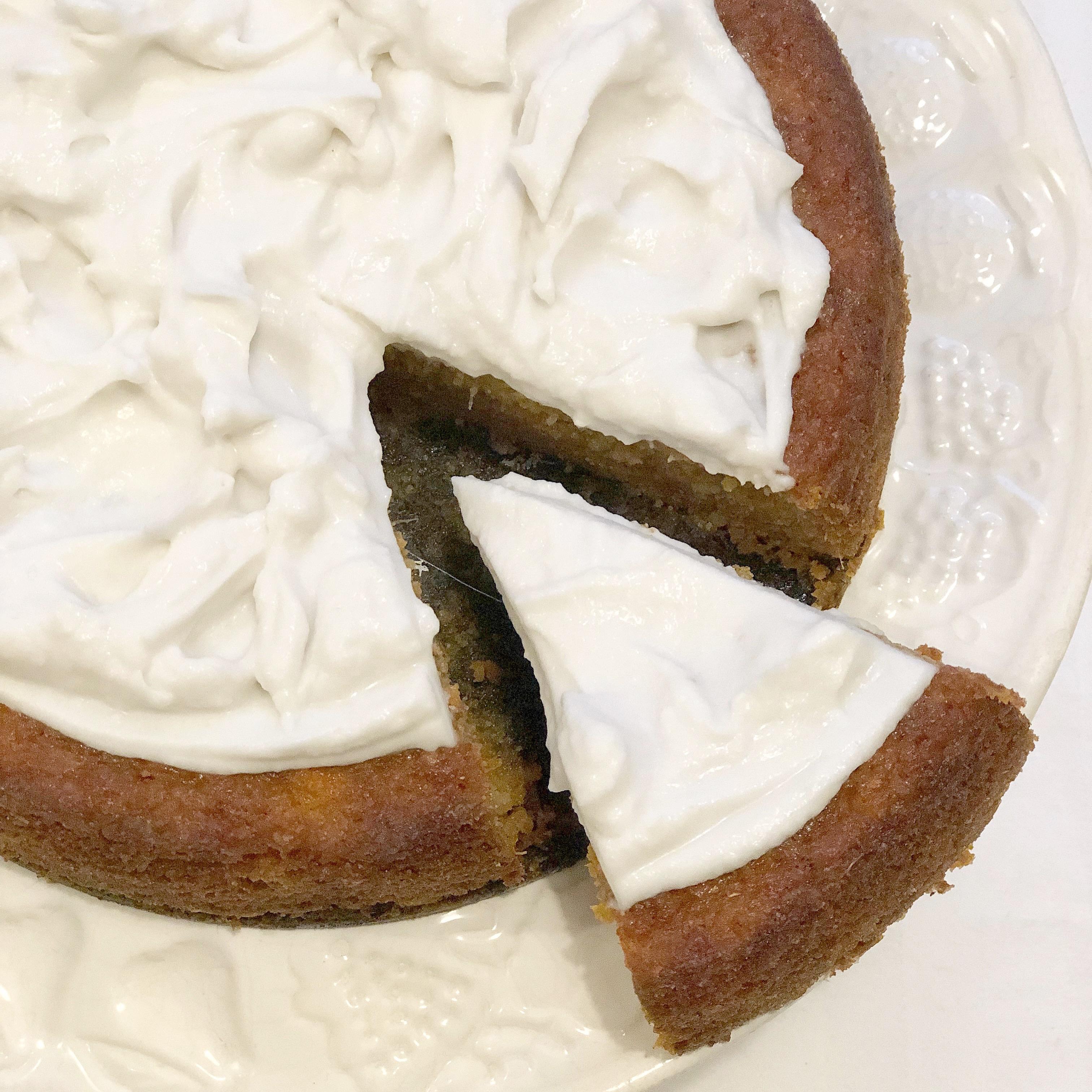 Torta Carote e Cocco Senza Burro, un dolce senza glutine zuccheri e lattosio!