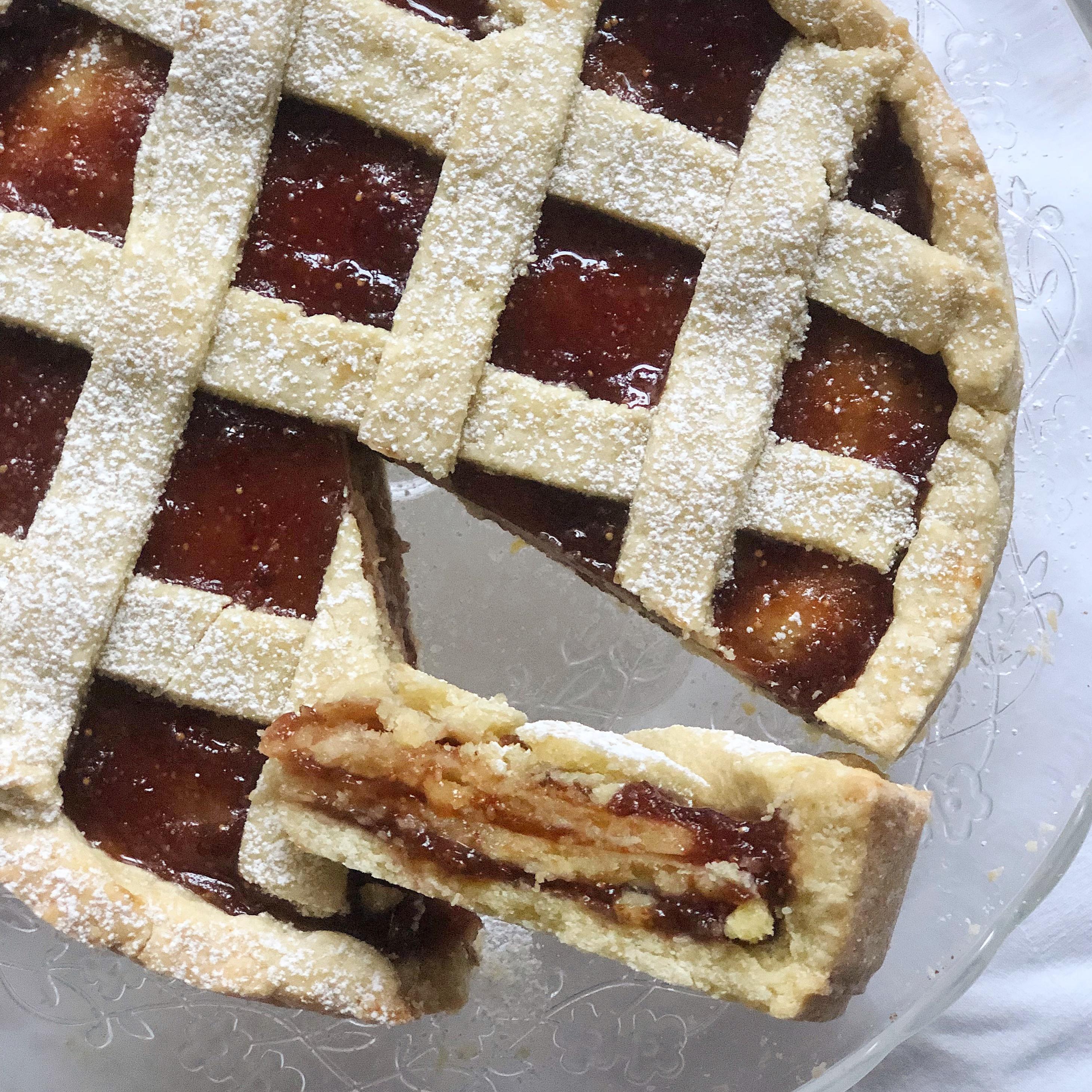 Crostata a Strati Senza Burro, una ricetta speciale di dolci senza burro
