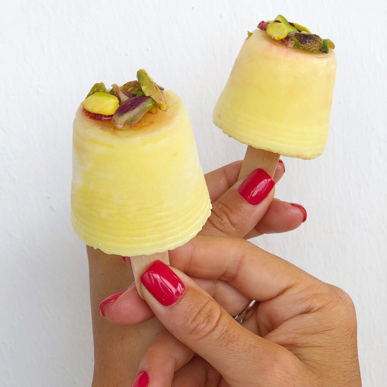 Ghiaccioli Ananas e Cocco, la pausa leggera e golosa di dolci senza burro