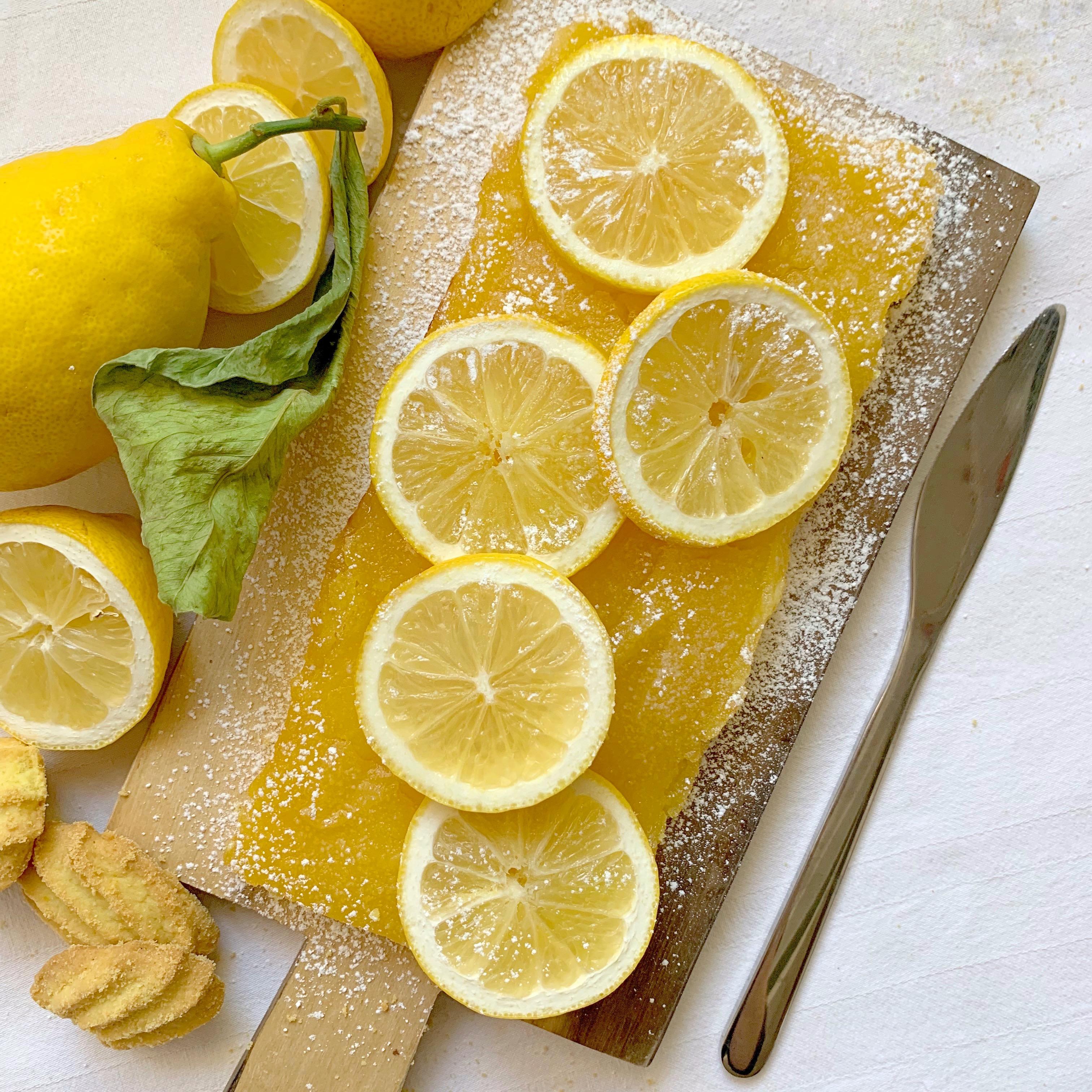 Lemon Bars Senza Burro, i dolcetti inglesi in versione light di dolci senza burro