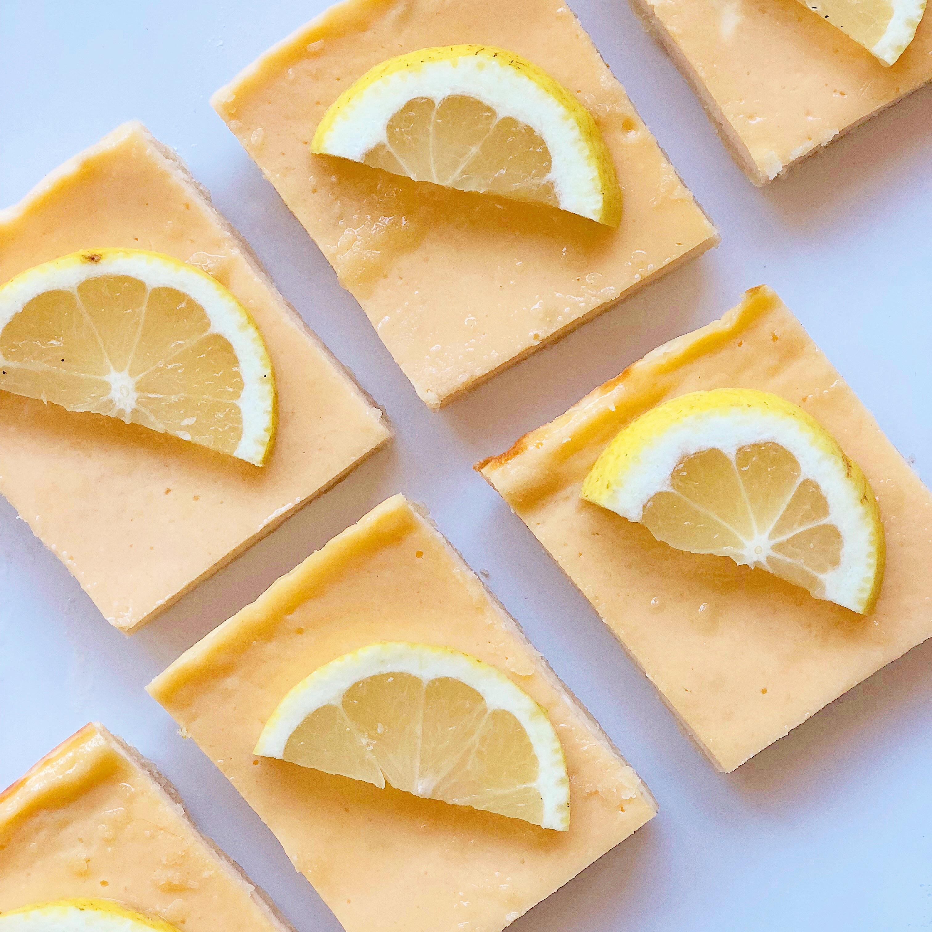 Lemon Bars Senza Burro, un concentrato di gusto senza sensi di colpa di dolci senza burro