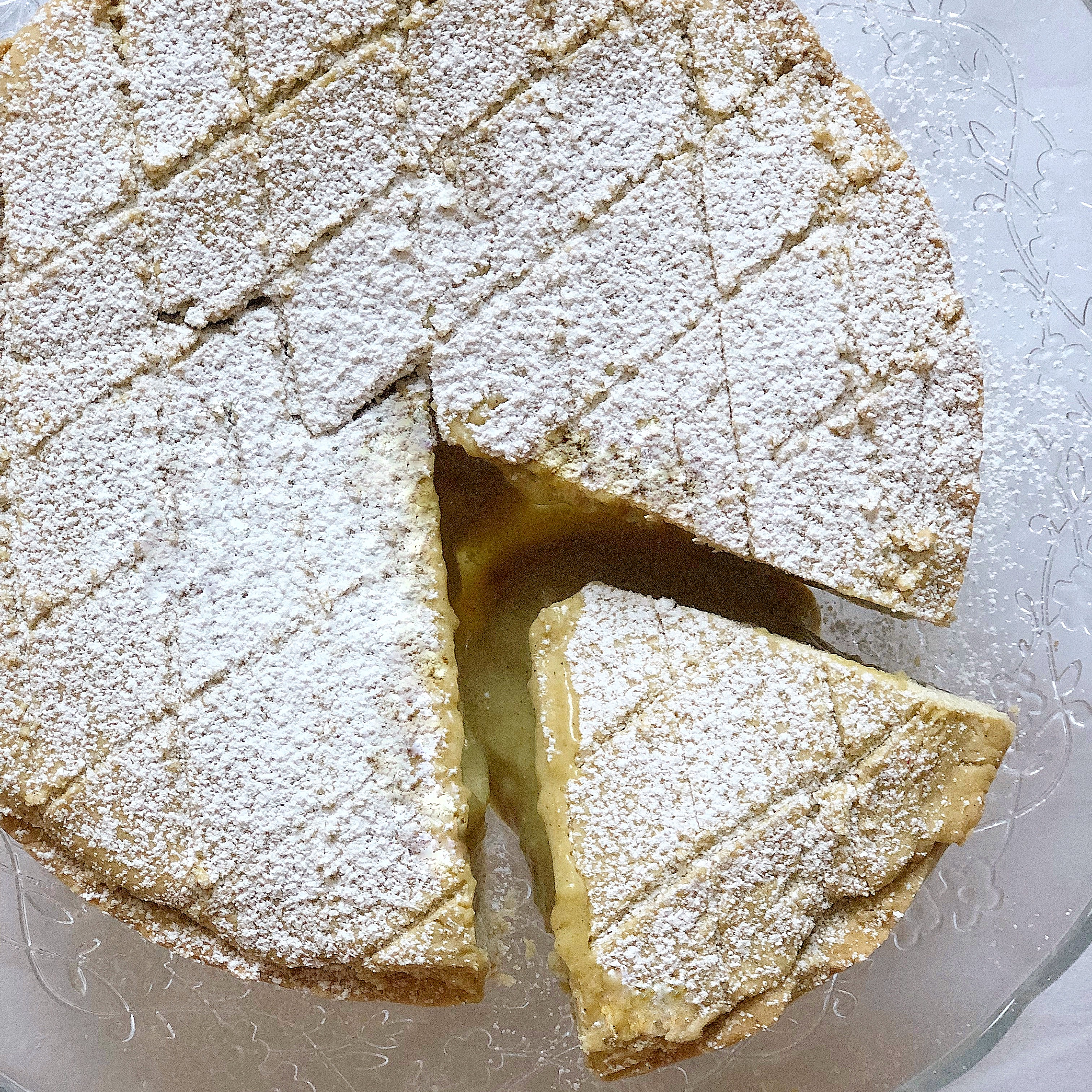 La Torta Pasticciotto Senza Burro la versione big del famoso dolce leccese!