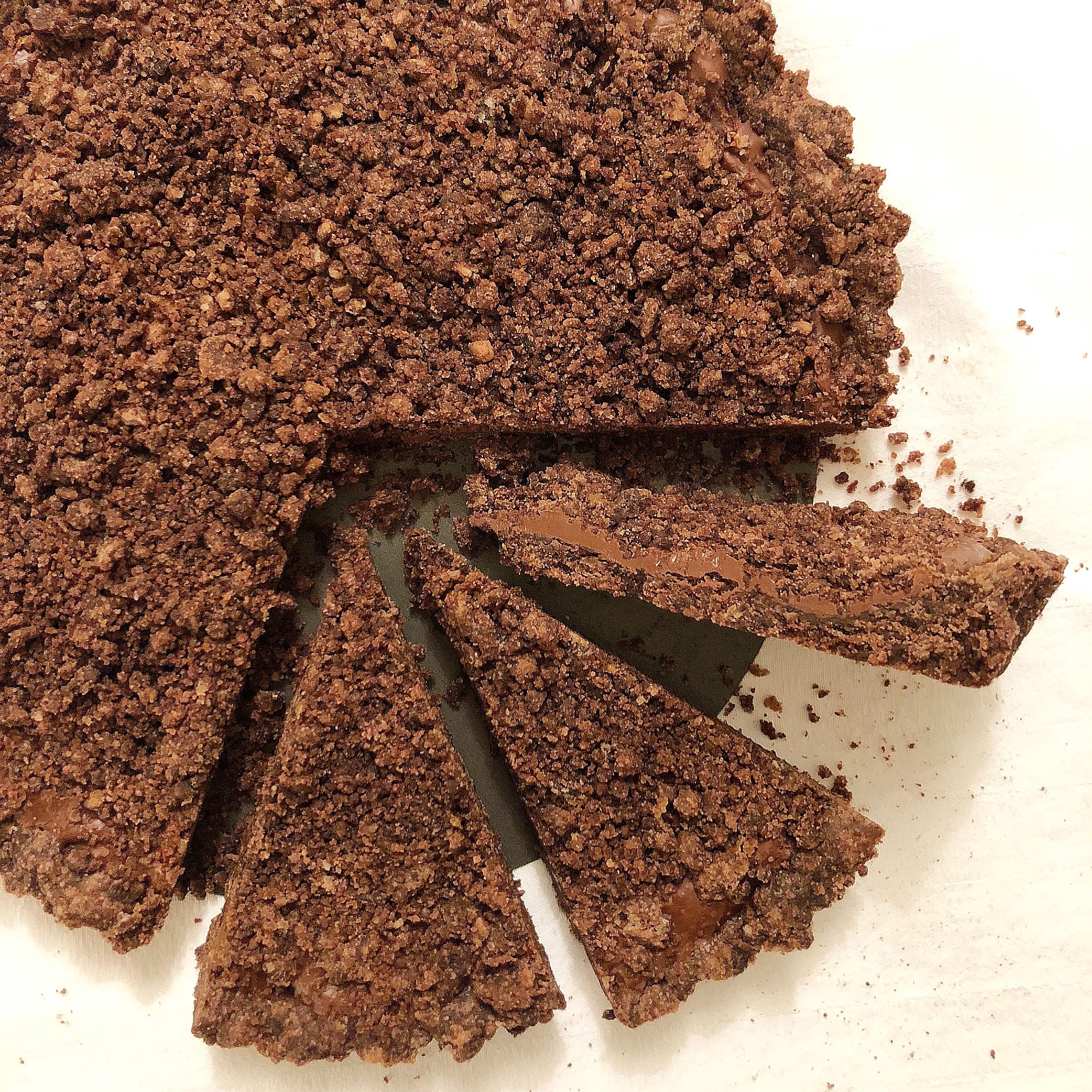 La Sbriciolata alla Nutella Senza Burro, irresistibilmente buona di dolci senza burro