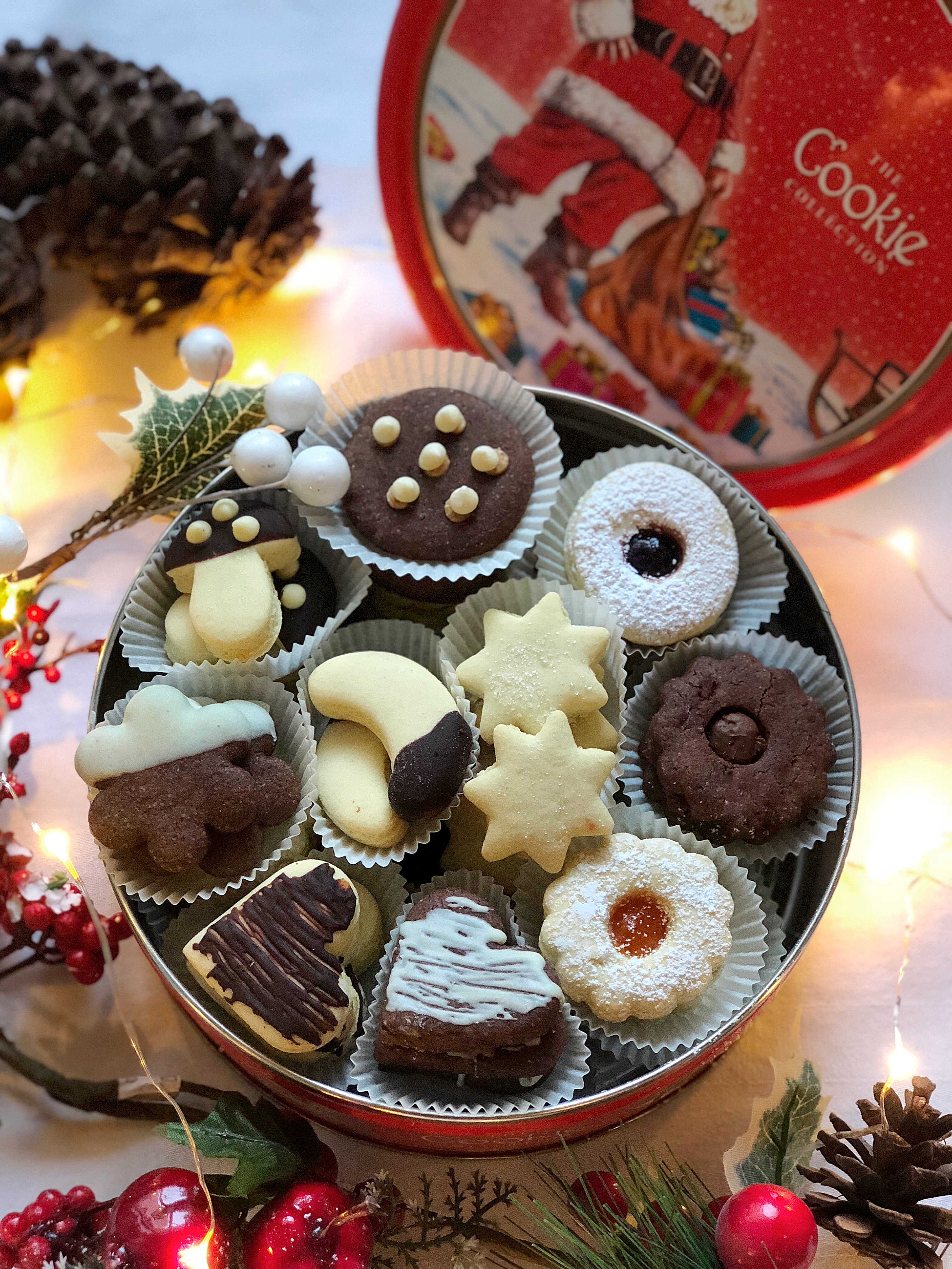 Biscotti Senza Burro, un impasto tanti gusti! Perfetti per realizzare la classica scatola di biscotti in casa!