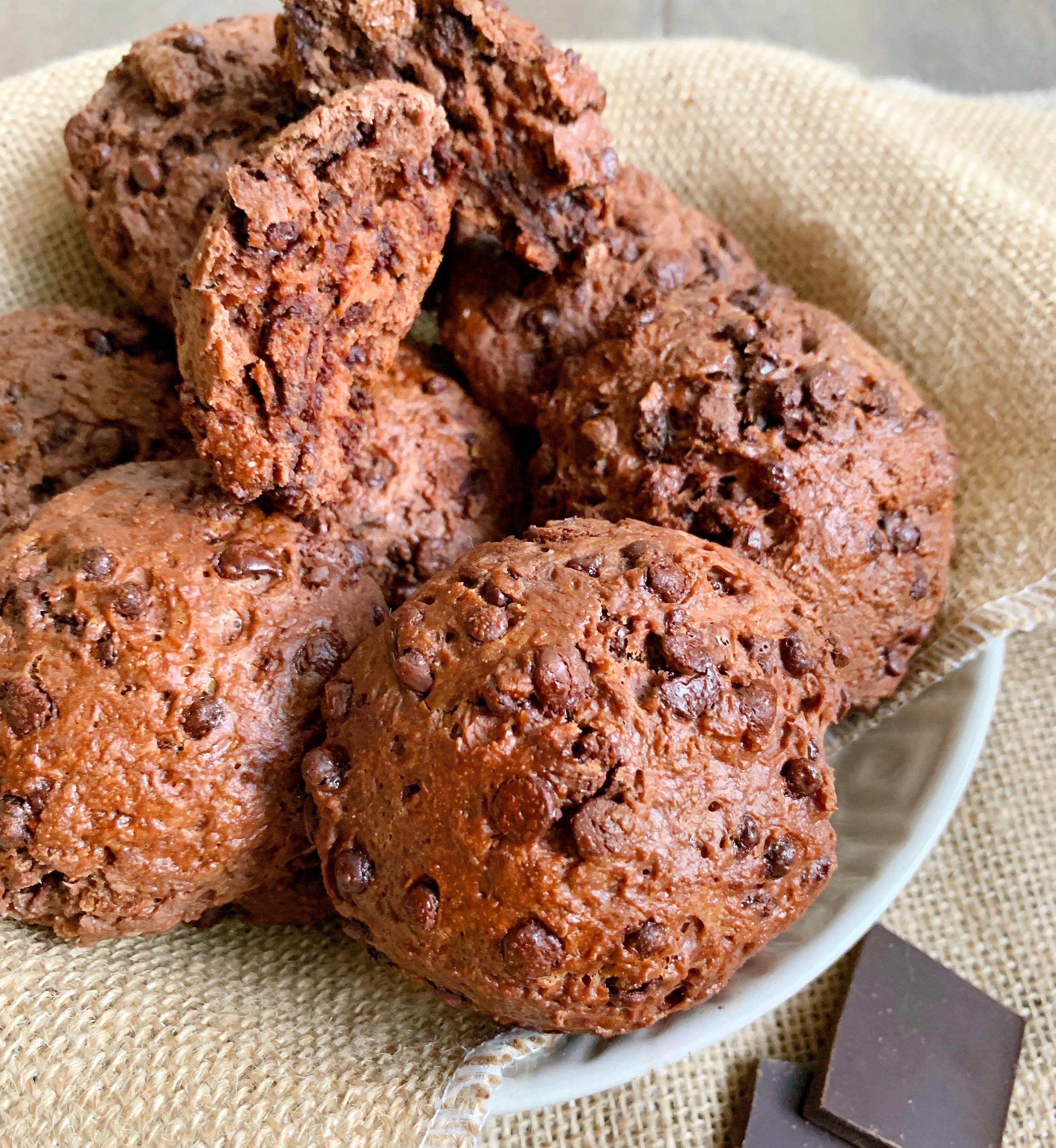 Panini dolci al cioccolato senza burro, golosi e originali di dolci senza burro