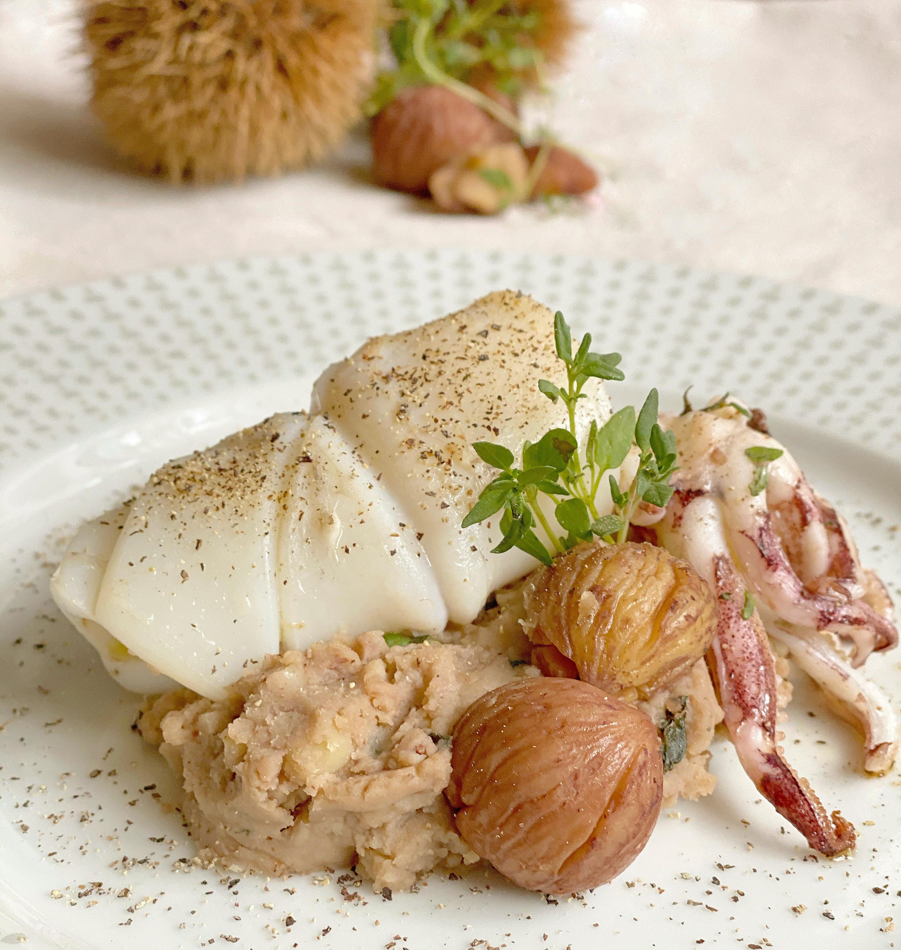 calamaro-su-purea-di-castagne